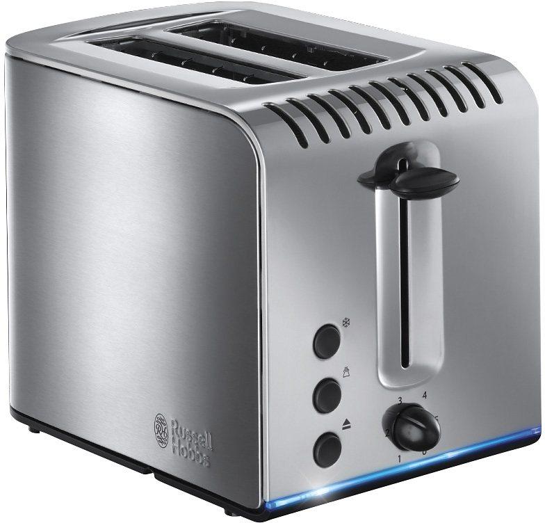 Russell Hobbs Toaster »Buckingham 20740-56«, für 2 Scheiben, 1300 Watt in Edelstahl