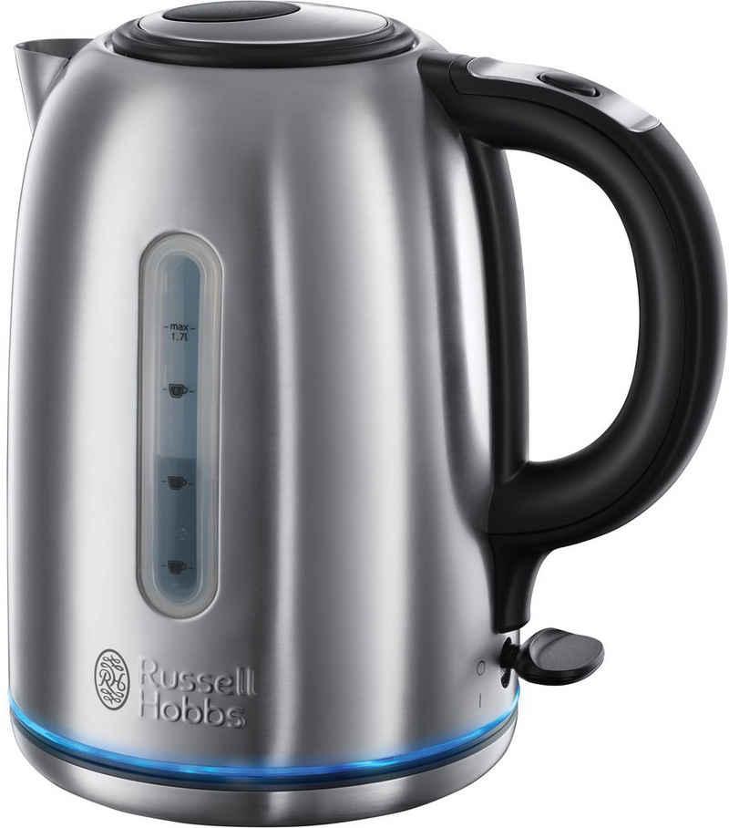 RUSSELL HOBBS Wasserkocher 20460-56 Buckingham WK, 1,7 l, 3000 W, Kocht eine Tasse Wasser (235 ml) in 45 Sekunden
