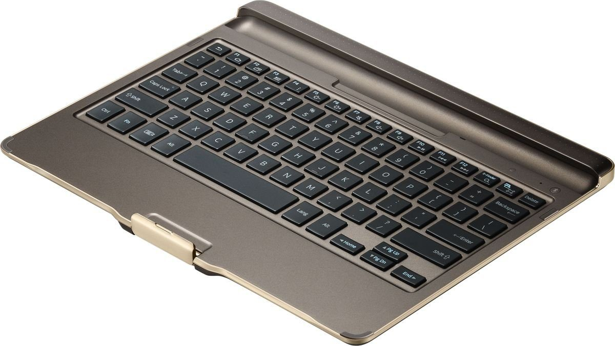 Samsung Tastatur »Keyboard Case mit Tastatur für Tab S 10.5, Bronze«