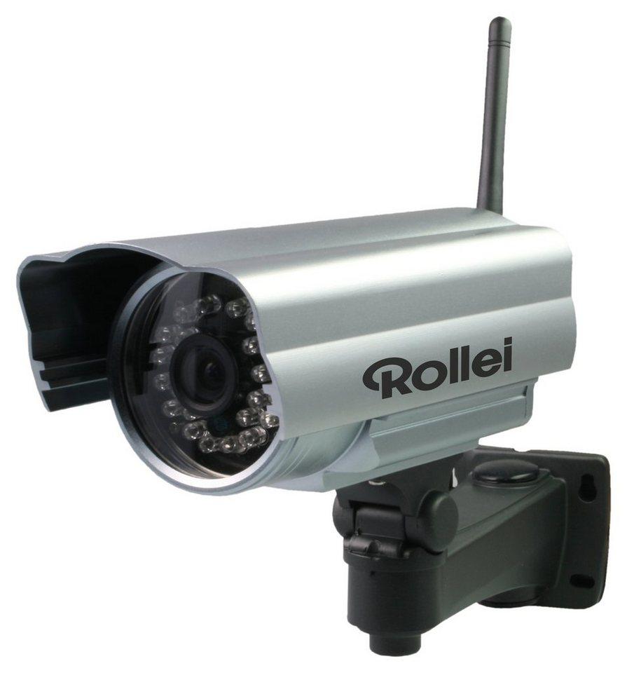 Rollei Safetey Cam HD 20 Camcorder, WLAN in silberfarben