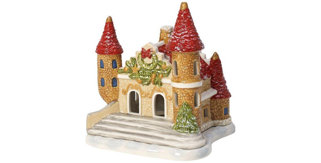VILLEROY & BOCH Lichthaus Schloss 12x10x12cm »Mini Christmas Village«