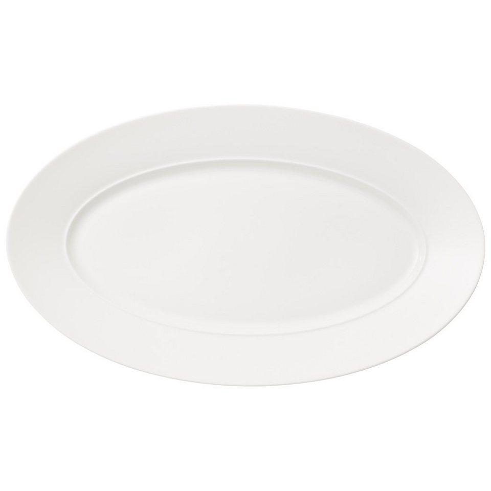 VILLEROY & BOCH Platte oval 43cm »La Classica Nuova« in Weiss