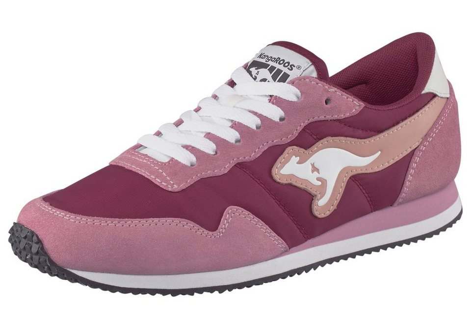 KangaROOS Invader Colours Sneaker in Rosa-Bordeaux-rot