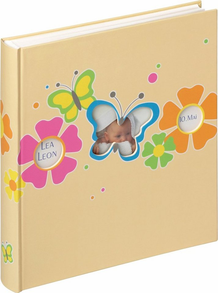 Home affaire Babyalbum »Butterfly« in gelb