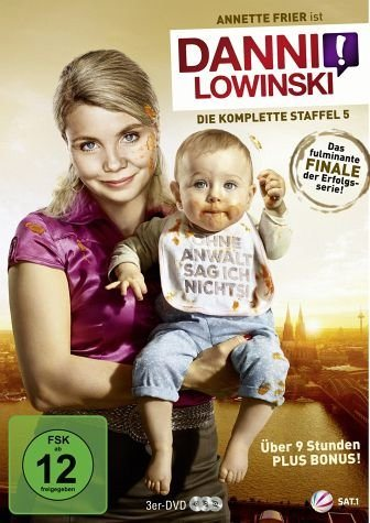 DVD »Danni Lowinski - Die komplette Staffel 5 (3...«