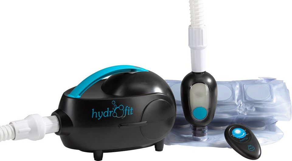 Hydas® Sprudelbad, mit Farbspiel in schwarz