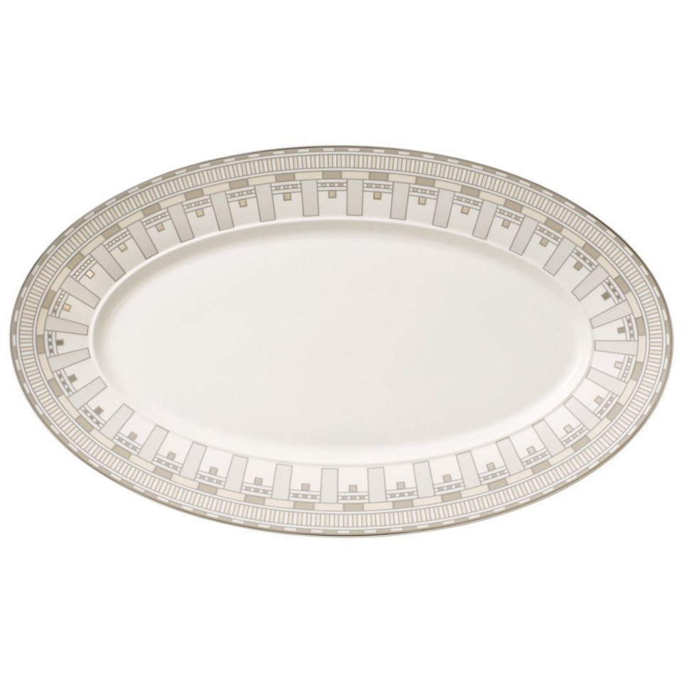 VILLEROY & BOCH Platte oval 43cm »La Classica Contura« in Dekoriert