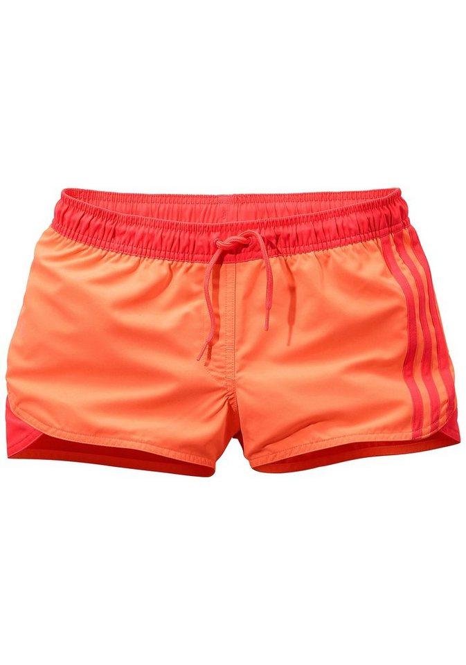 Shorts, adidas Performance in orange-pink