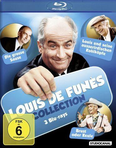 Blu-ray »Louis de Funès Collection - 3 Blu-rays (3 Discs)«