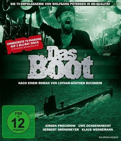 Blu-ray »Das Boot - TV-Serie (Director's Cut, 2 Discs)«