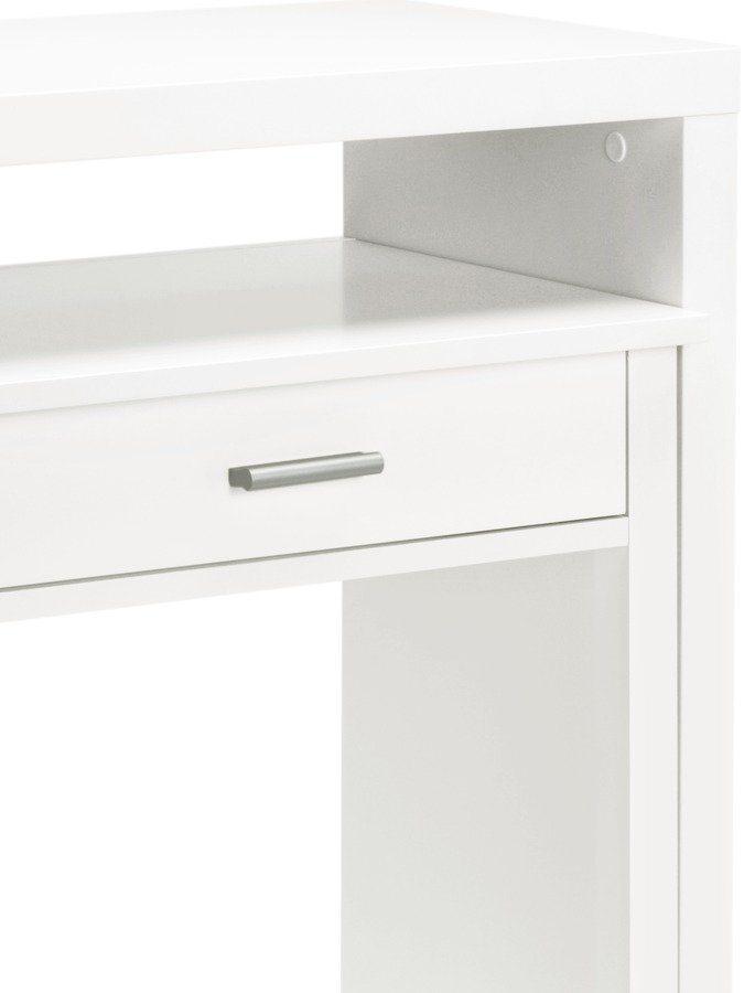 Kleiner Wei Er Schreibtisch , Heine Home Schreibtisch Ausziehbar Online Kaufen