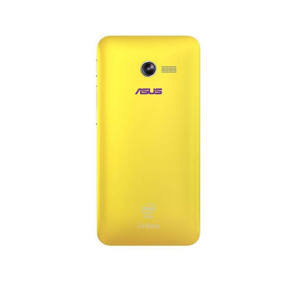 ASUS Smartphone Schutzhülle »Schutz Cover gelb für ZenFone 4 (90XB00RA-BSL180)« in gelb