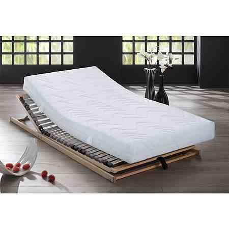 Matratzen und Lattenroste für jeden Anspruch und einen gesunden Schlaf, zur Auswahl stehen Kaltschaummatratzen, Latex- und Viscomatratzen genauso wie Taschen- und Bonellfederkernmatratzen.