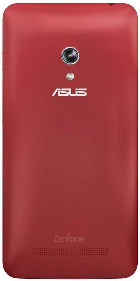 ASUS Smartphone Schutzhülle »Schutz Cover rot für Zenfone 5 (90XB00RA-BSL250)« in rot