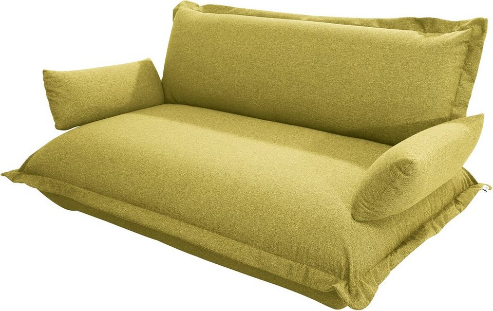 TOM TAILOR 2-Sitzer Sofa »CUSHION«, Breite 147 cm in mustard green TBO 5