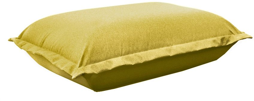 TOM TAILOR Hocker »CUSHION« in mustard green TBO 5