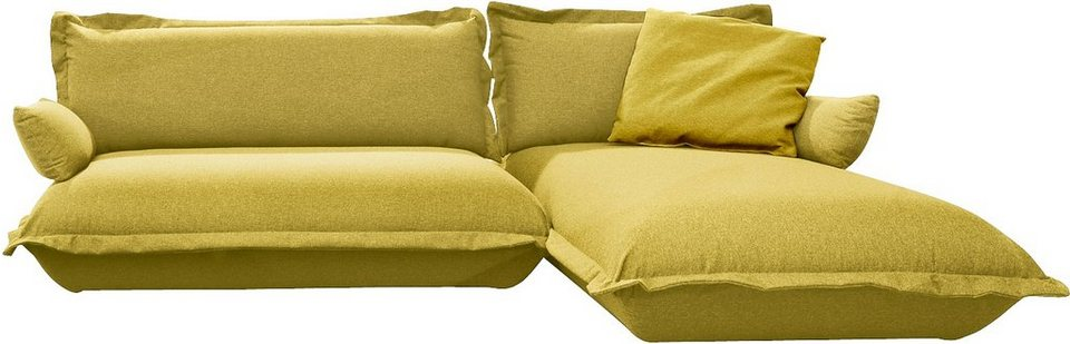 TOM TAILOR Polsterecke »CUSHION«, flexibel montierbar in mustard green TBO 5