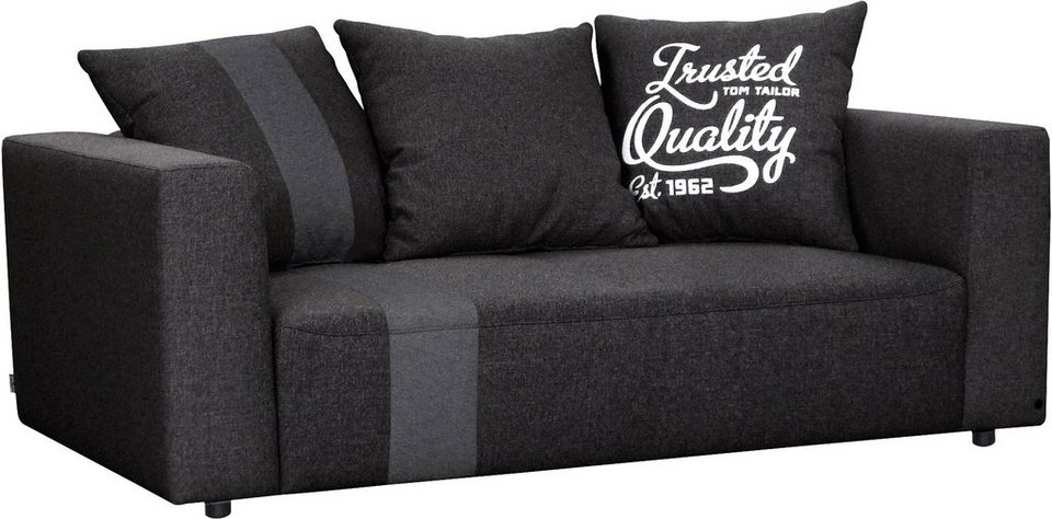 tom tailor 2 sitzer sofa xs stripe heaven casual colors. Black Bedroom Furniture Sets. Home Design Ideas