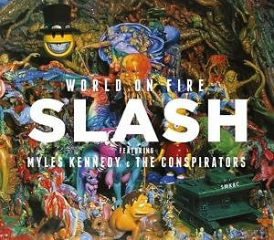 Audio CD »Slash; Myles Kennedy; Conspirators: World On Fire«