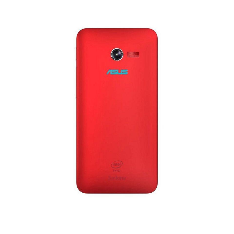 ASUS Smartphone Schutzhülle »Schutz Cover rot für ZenFone 4 (90XB00RA-BSL160)« in rot