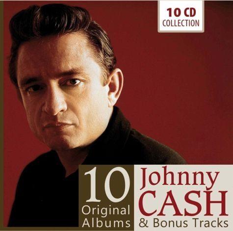 Audio CD »Johnny Cash: Johnny Cash - 10 Original Albums«
