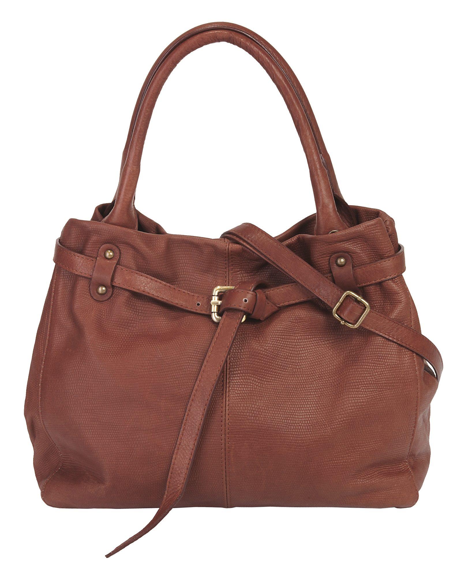 piké Leder Damen Handtasche