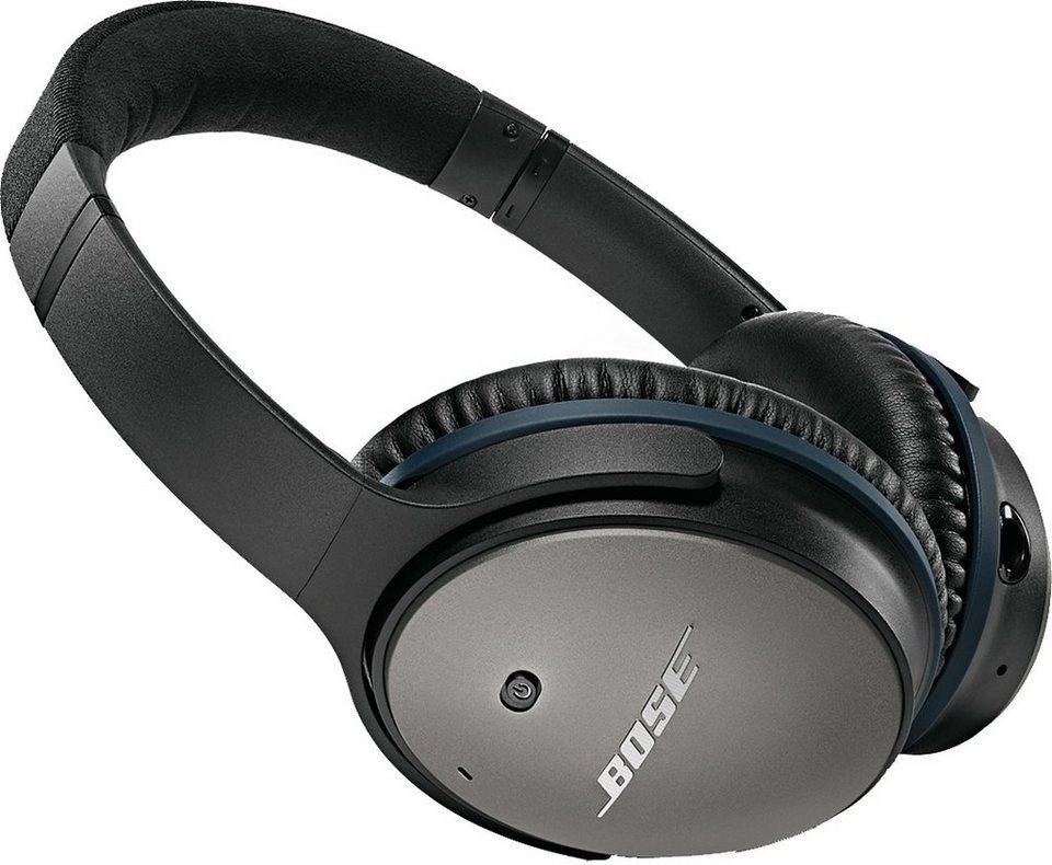 Bose® QuietComfort® QC 25 Acoustic Noise Cancelling® Headphones für Apple Geräte in schwarz