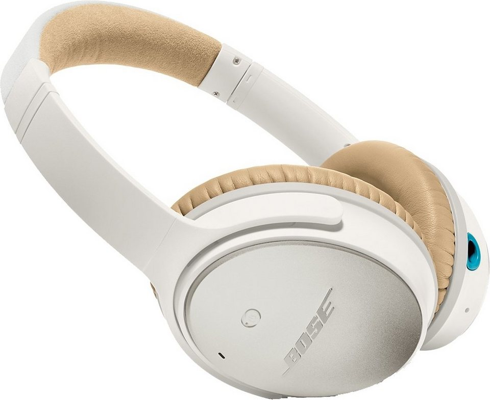 Bose® QuietComfort® QC 25 Acoustic Noise Cancelling® Headphones für Apple Geräte in weiß