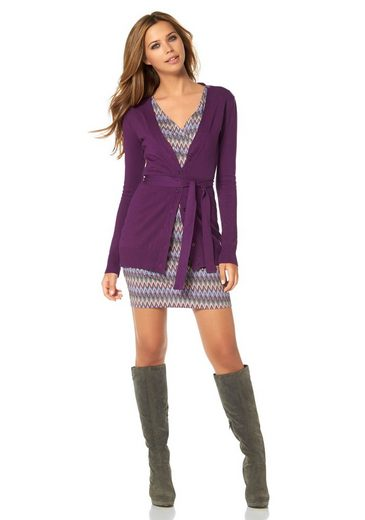 Buffalo 2-in-1-strickjacke