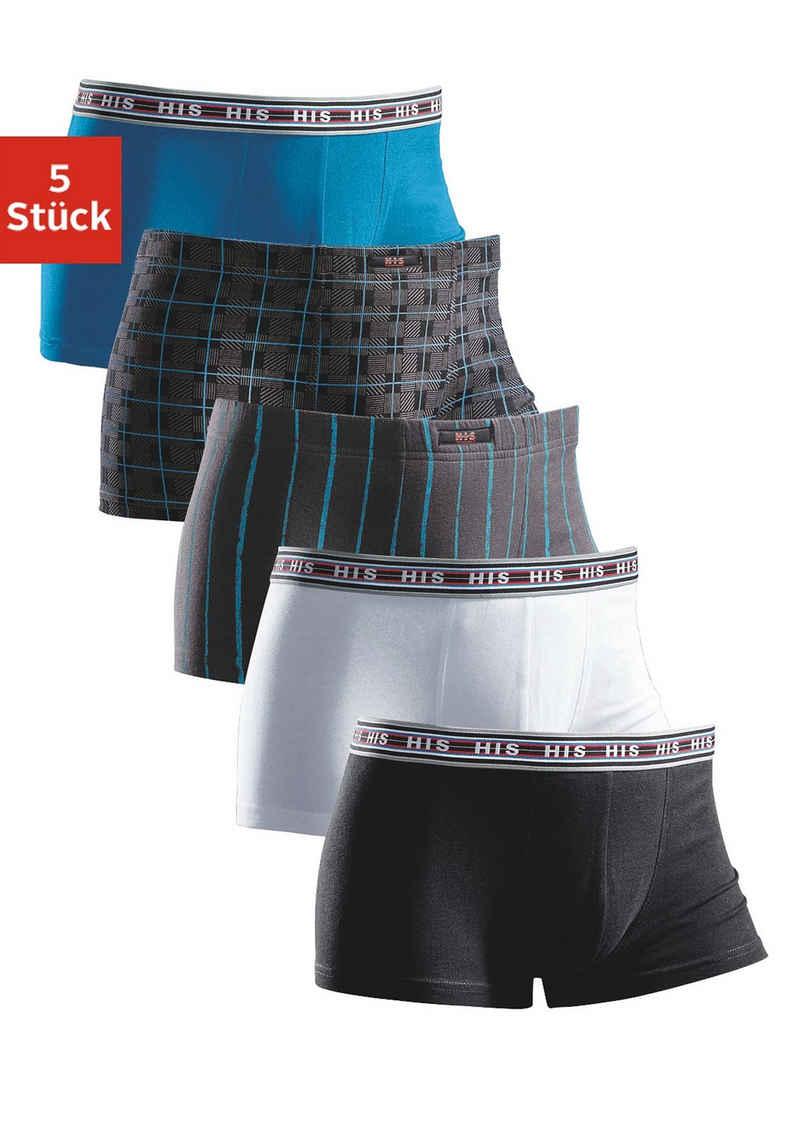 H.I.S Boxer (5 Stück) aus Baumwoll-Stretch