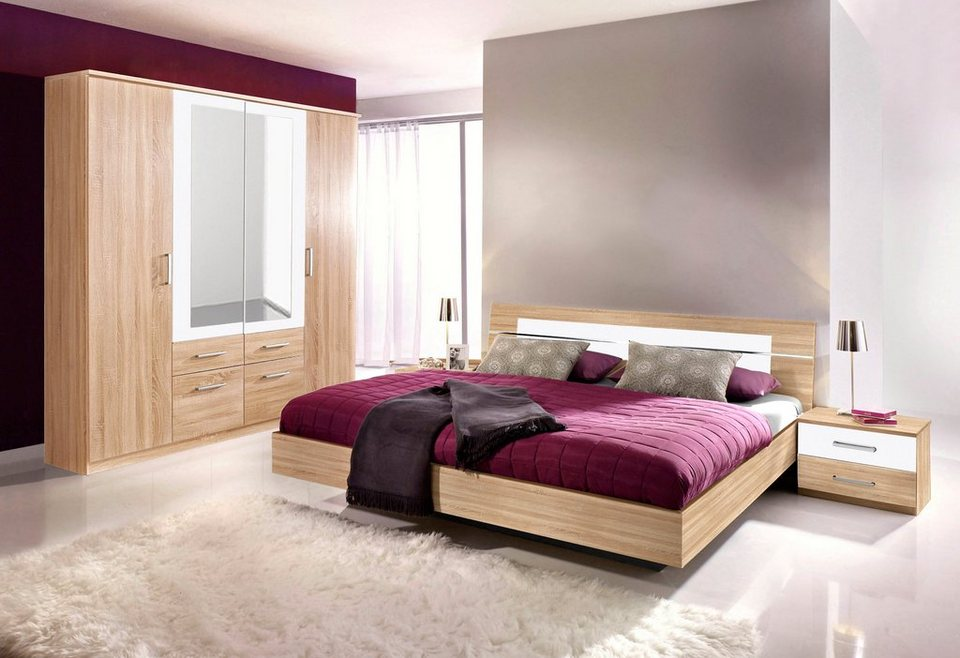 rauch pack s schlafzimmer 4 tlg online kaufen otto. Black Bedroom Furniture Sets. Home Design Ideas