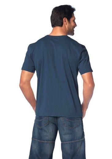 Man's World T-Shirt, Großer Print