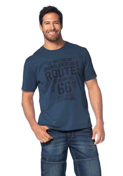 Man's World T-Shirt Großer Print