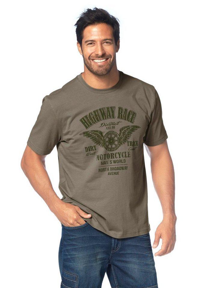 Man's World T-Shirt in khaki