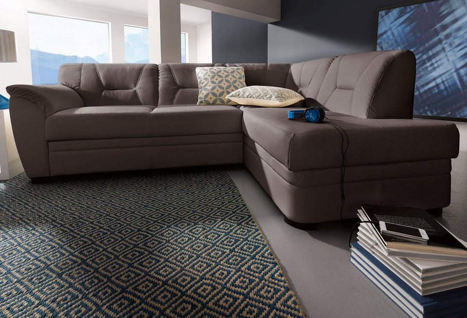 polsterecke cotta mit bettfunktion online kaufen otto. Black Bedroom Furniture Sets. Home Design Ideas