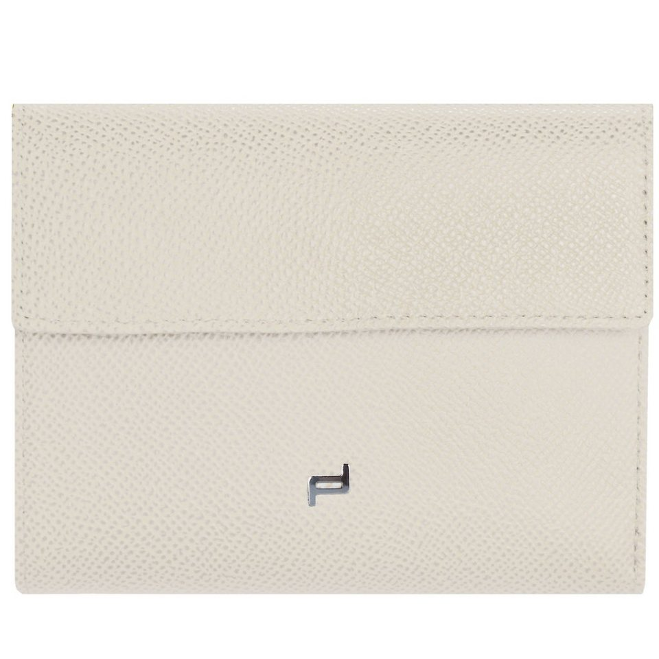 Porsche Design French Classic Coinpurse F10 Leder 19 cm in off white