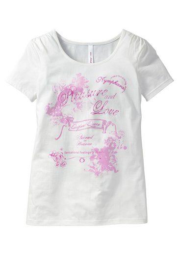 sheego Casual Romantisches Shirt