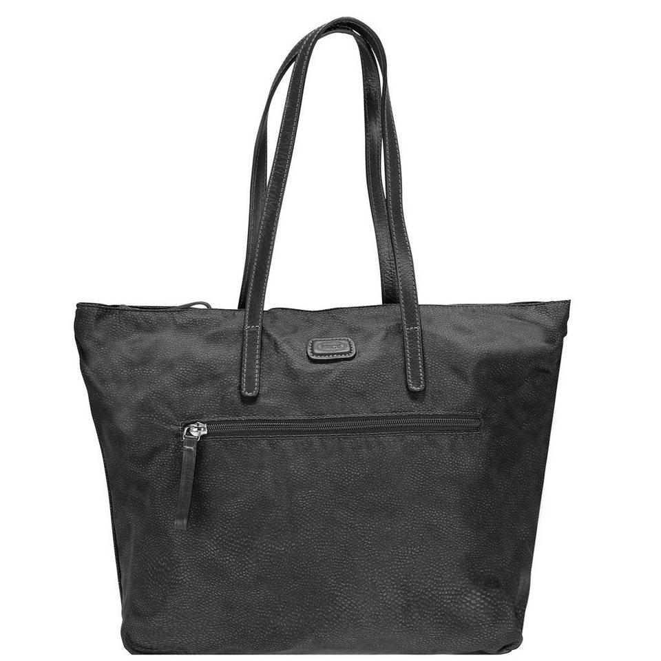 Bric's Portofino Shopper 30 cm in schwarz