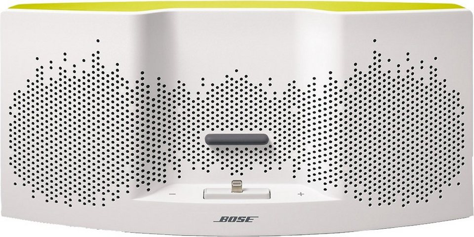Bose® SoundDock® XT Speaker in weiß/gelb