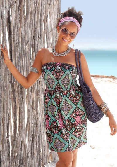 Langes sommer bandeau kleid