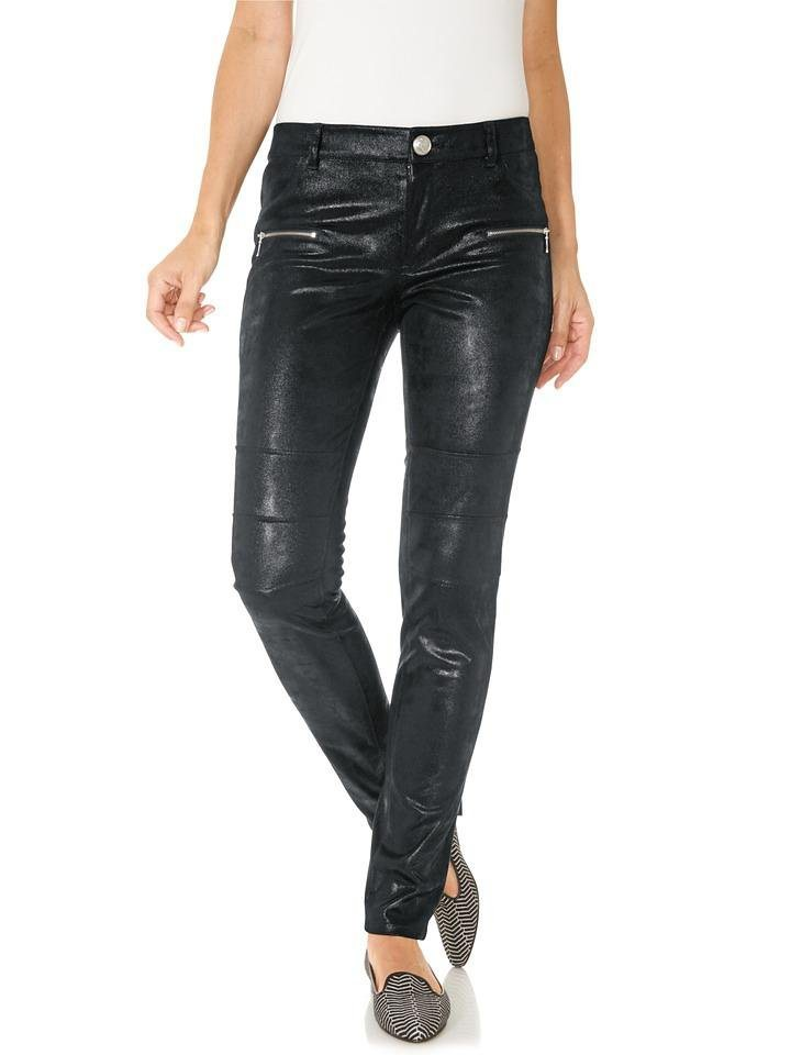 Jeggings in schwarz