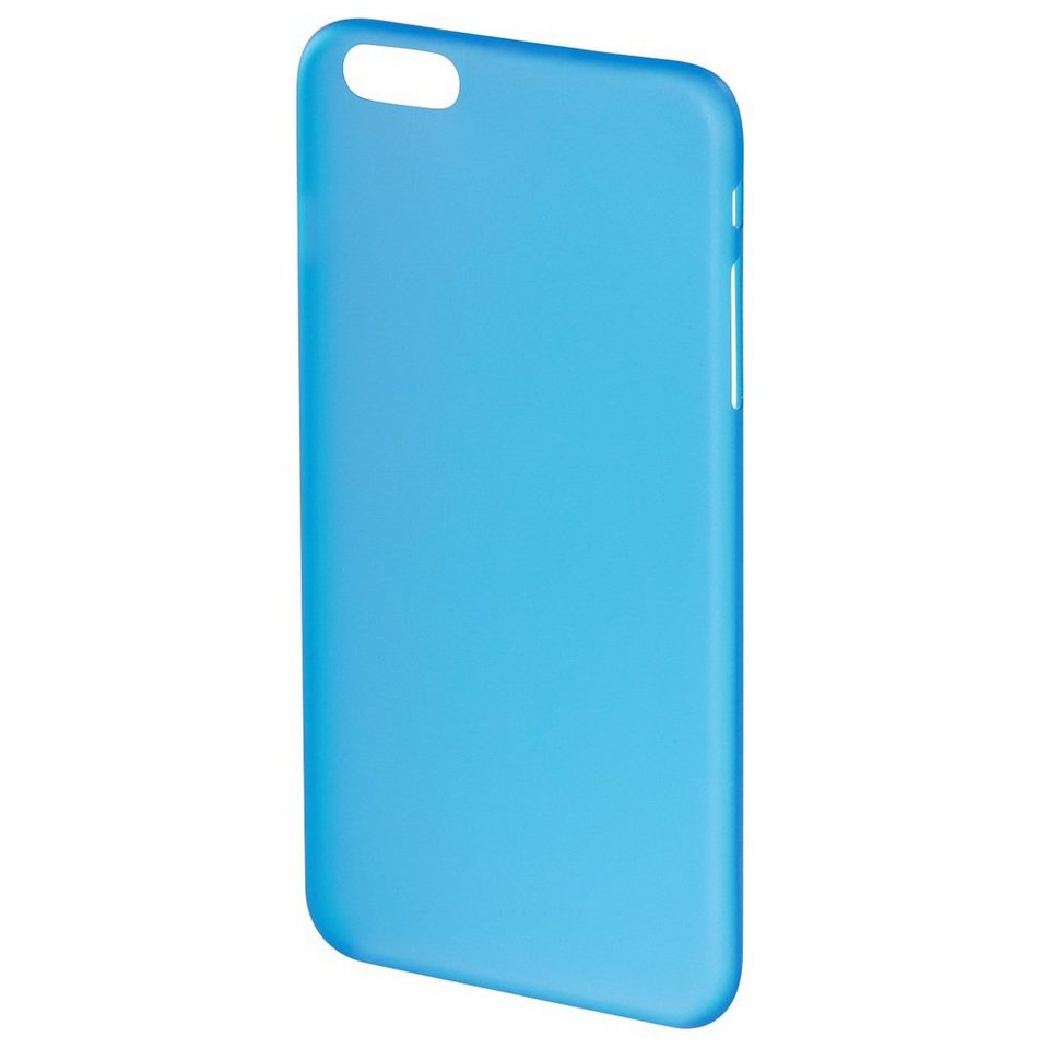 Hama Cover Ultra Slim für Apple iPhone 6/6s, Blau in Blau