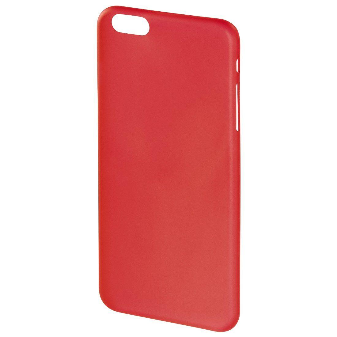 Hama Cover Ultra Slim für Apple iPhone 6/6s, Rot