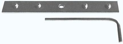 Verbinder »Sileno«, Good Life, Vorhangschiene, für Vorhangschiene Sileno 3-läufig im Fixmaß