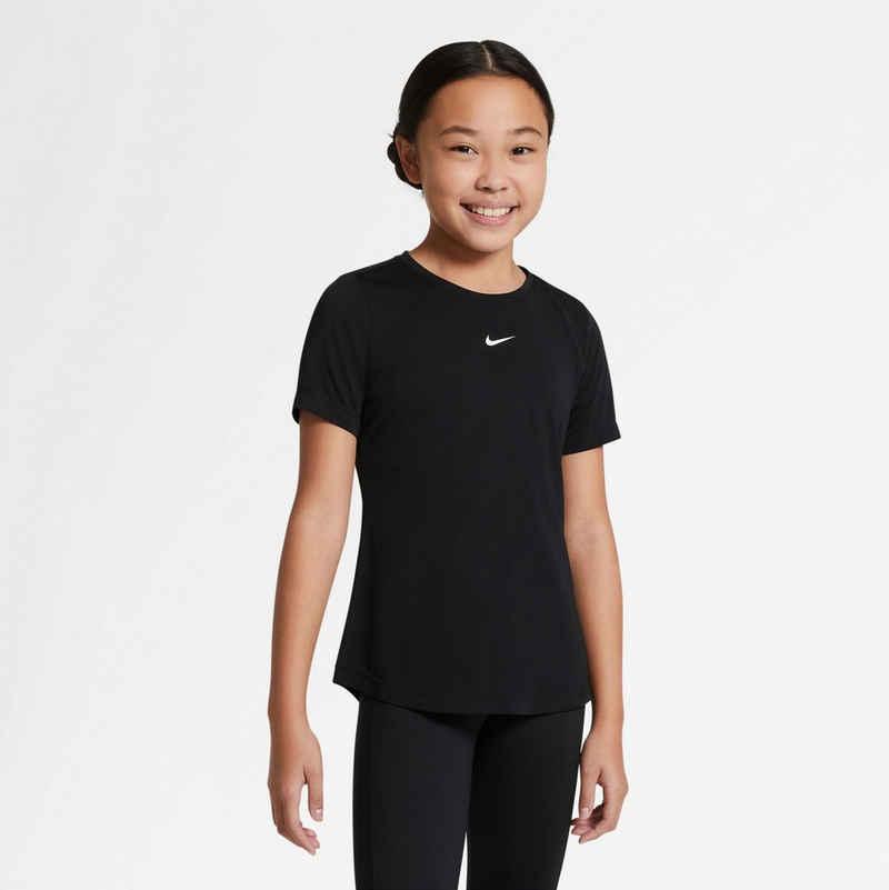 Nike T-Shirt »DRI-FIT ONE GIRLS SHORT SLEEVE«