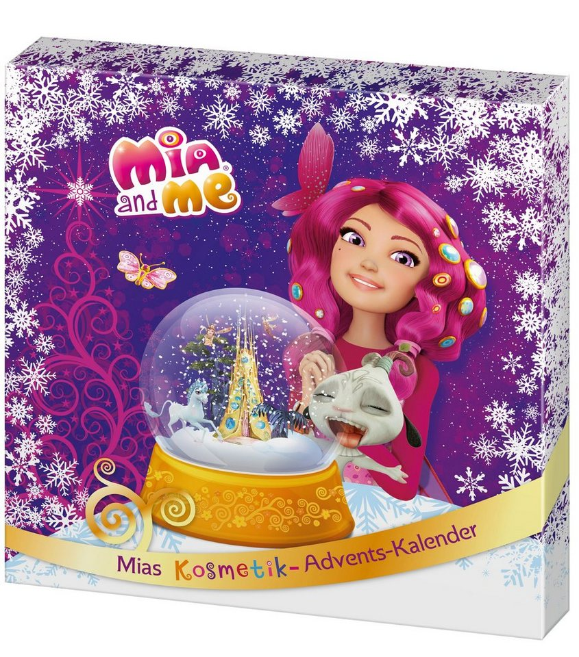 Mia and me, »Mia`s Kosmetik-Adventskalender«, Adventskalender (24-tlg.)
