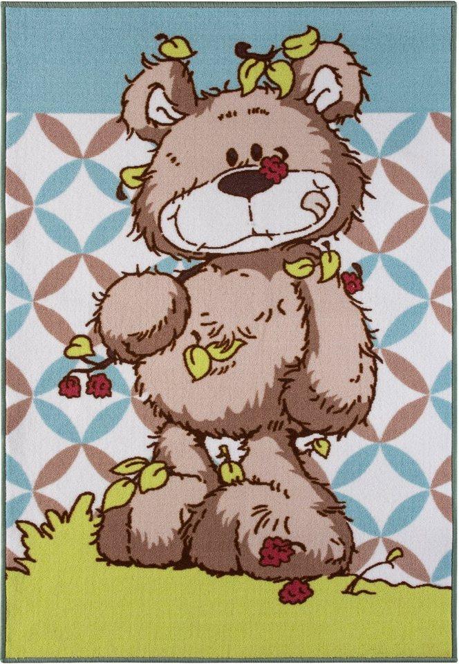 Kinder-Teppich, Nici, »NICI - Lovely Bear« in grün