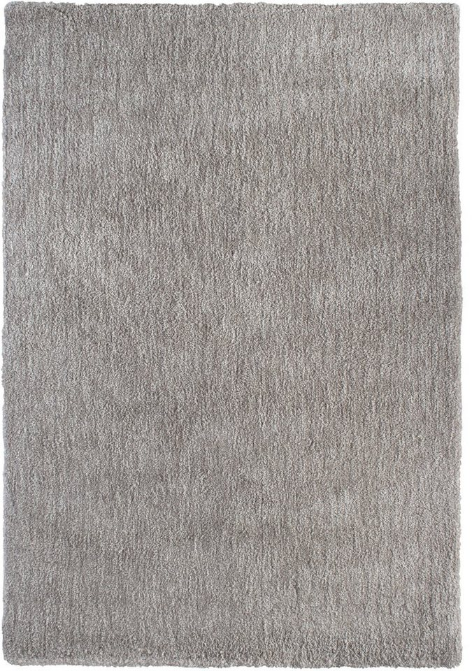 Hochflor-Teppich, b.b home passion, »Touch«, Höhe 27 mm in beige