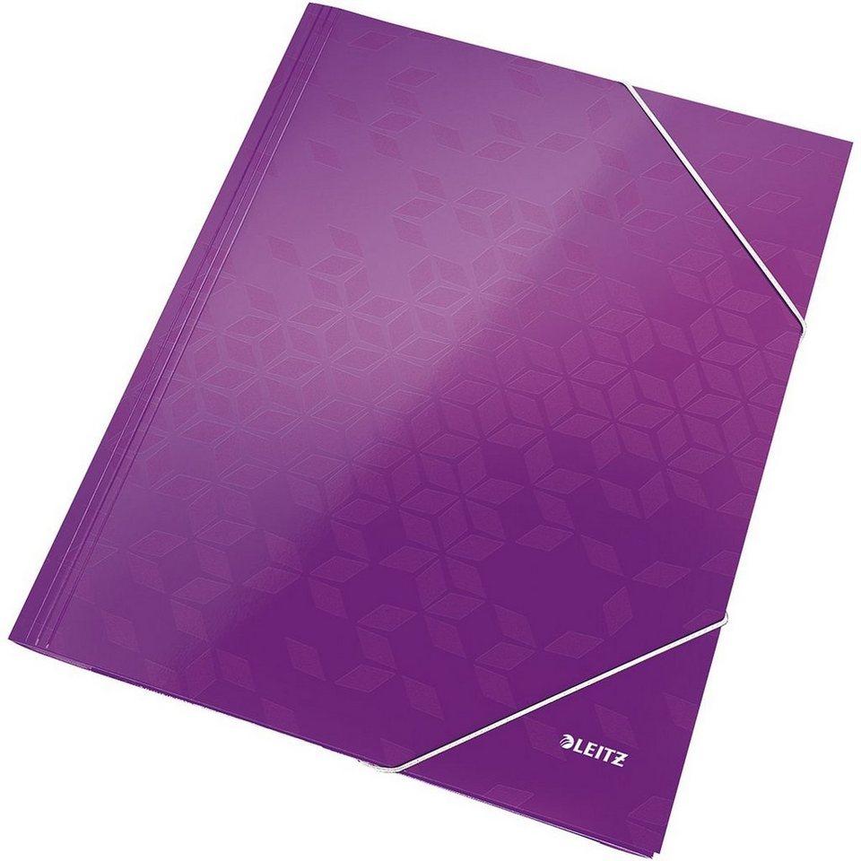 Leitz Eckspannermappe »WOW« in violett
