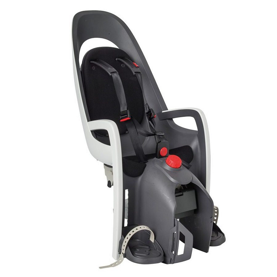 Hamax Kindersitz-System »Caress Kindersitz Gepäckträger grau/weiß/schwarz«